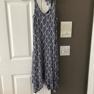 Patterned Handkerchief Dress